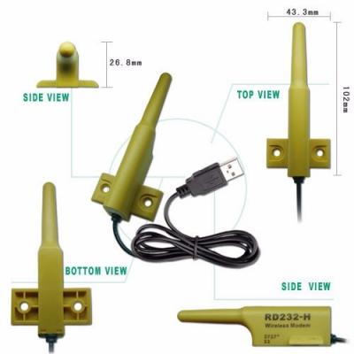RS232長距離無線數據收發器