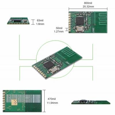 TRW-2.4G06UART 2.4GHz無線通訊模組