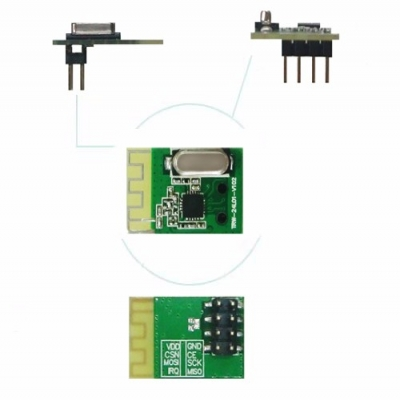 2.4GHz High Power Long-Distance Wireless Transceiver Module