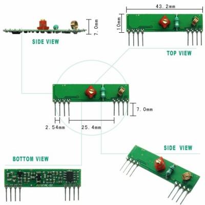 RWS-371 超再生高頻接收模組