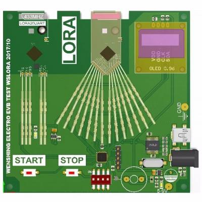 LoRa模組測試治具
