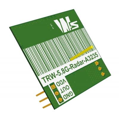 TRW-5.8GHz 無線高頻雷達模組