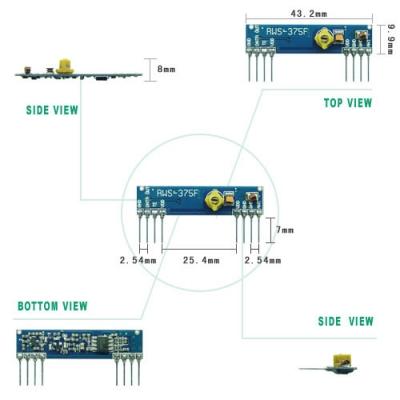 RWS-375 超再生高頻接收模組