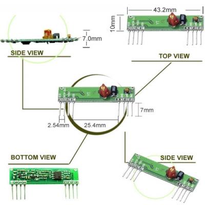 RWS-374 超再生高頻接收模組
