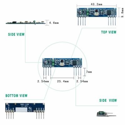 RWS-123B 超再生高頻接收模組