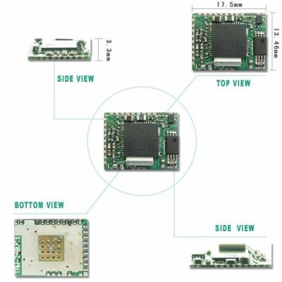 TRW-24BUC 2.4GHz 無線藍牙模組