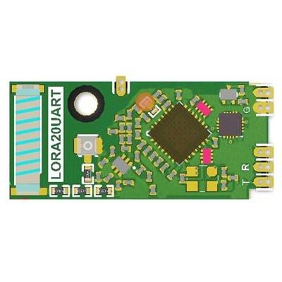 TRW-LORA20UART LoRa 410~525MHz高感度功耗低雙向模組(含MCU)